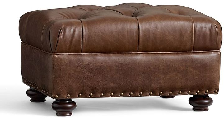 Lansing Leather Ottoman Leather Sofa Guide