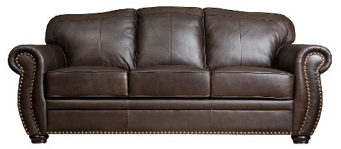 Abbyson Living. Marlow Leather Sofa ...