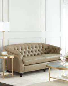 LaSalle Leather Sofa