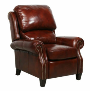 Barcalounger Churchill II Leather Recliner