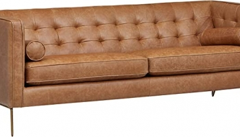 Best Mid-Century Modern Leather Sofa